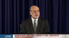 Ben Bernanke - szef FED przemawia na konferencji prasowej 12-12-2012