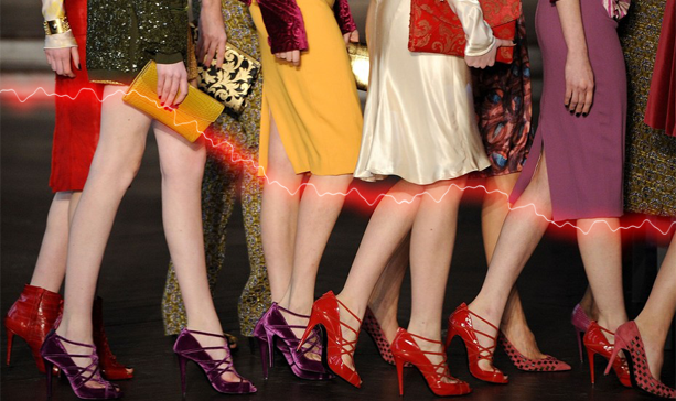 Giełda nogi spódnice