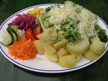 Tależ z warzywami