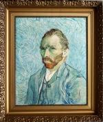 Vincent van Gogh, autoportret, 1889. Paryż Muzeum d'Orsay