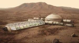 Być może tak będzie wyglądała pierwsza kolonia na Marsie